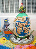 Esposizione dell'uovo di Pasqua Immagine Stock