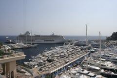 Esposizione dell'yacht di Monte Carlo Immagini Stock
