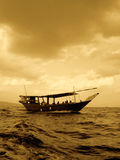 Esposizione della barca fotografia stock libera da diritti