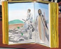 Esposizione della bibbia Fotografia Stock