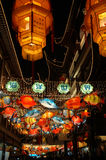 Esposizione della lanterna fotografie stock