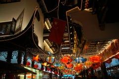 Esposizione della lanterna a Schang-Hai Fotografia Stock Libera da Diritti
