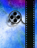 Esposizione della maschera di film Fotografia Stock