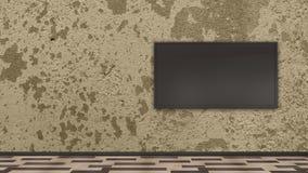 Esposizione della TV royalty illustrazione gratis