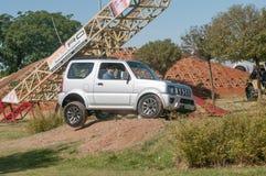 Esposizione delle capacità dei veicoli 4x4 Fotografie Stock Libere da Diritti