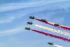 Esposizione dello show aereo del Bahrain immagine stock libera da diritti