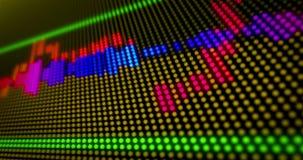 Esposizione dello spettro acustico illustrazione vettoriale