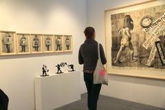 Esposizione di arte a New York City Fotografia Stock Libera da Diritti