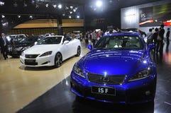 Esposizione di automobile di fama mondiale Fotografia Stock