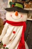 Esposizione di festa di Natale alla vendita al dettaglio Fotografie Stock Libere da Diritti