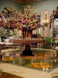 Esposizione di fiore del centro Immagine Stock