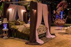 Esposizione di fiore della camera da letto Fotografia Stock
