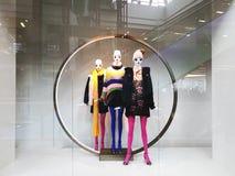 Esposizione di lusso ed alla moda della finestra di marca Immagine Stock Libera da Diritti