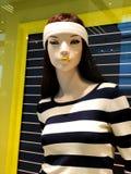 Esposizione di lusso ed alla moda della finestra di marca Fotografie Stock