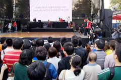 Esposizione di musica della Germania in Cina Fotografia Stock