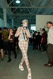 Esposizione di Vivienne Westwood Schang-Hai backstage Immagine Stock