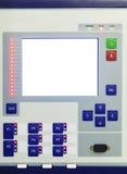 Esposizione e bottoni sul pannello di controllo del dispositivo di controllo elettronico Fotografia Stock Libera da Diritti