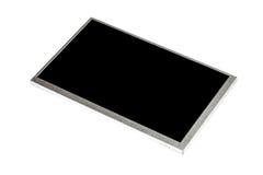 Esposizione LCD nera (parte anteriore) Fotografia Stock Libera da Diritti