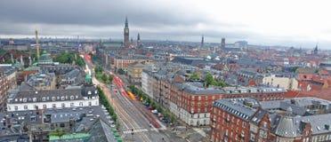 Esposizione lunga di Copenhaghen Immagine Stock