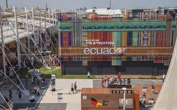 Esposizione Milano 2015 dell'Expo Immagine Stock