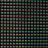 Esposizione moderna di tocco della matrice, primo piano estremo Macro Fotografie Stock Libere da Diritti