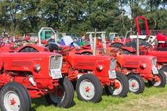Esposizione olandese dei trattori durante il festival agricolo Flaeijel Fotografie Stock