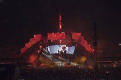 Esposizione U2 360 nel Brasile immagine stock libera da diritti