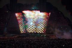 Esposizione U2 360 nel Brasile Fotografie Stock Libere da Diritti