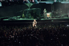 Esposizione U2 360 nel Brasile Fotografia Stock