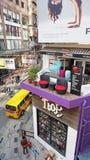 Esposizione unica ad un negozio di mobili in Hong Kong, Cina Immagine Stock