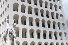 Esposizione Universale Roma Imagen de archivo