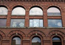 Esposizioni della finestra delle note appiccicose Fotografie Stock