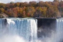 Espray Autumn View Buffalo America de Niagara Falls Imagen de archivo libre de regalías