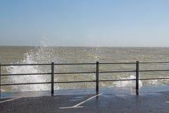 Espray de mar Imagenes de archivo