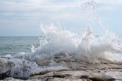 Espray de mar Fotografía de archivo
