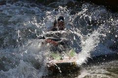 Espray del agua Imagen de archivo