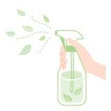 Espray natural de los ingredientes Fotos de archivo