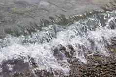 Espray soplado de ondas Foto de archivo libre de regalías