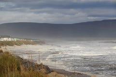 Espray y ondas de mar Fotos de archivo libres de regalías