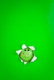 Espreitando o banco Piggy Fotografia de Stock Royalty Free