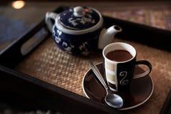 Espreso kaffe Arkivbilder