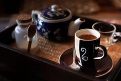 Espreso kaffe Royaltyfria Bilder