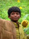 Espressione del coltivatore immagine stock libera da diritti
