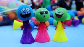 Espressione del fronte dei giocattoli immagini stock libere da diritti