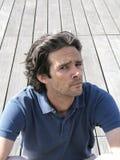 Espressione dell'uomo Fotografia Stock