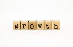 Espressione di crescita, concetto di affari ed idea Fotografie Stock Libere da Diritti