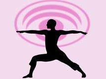 Espressione di yoga royalty illustrazione gratis