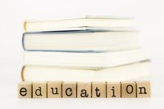 Espressione e libri di istruzione Fotografia Stock