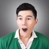 Espressione facciale divertente immagini stock libere da diritti