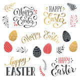 Espressione felice di Pasqua royalty illustrazione gratis